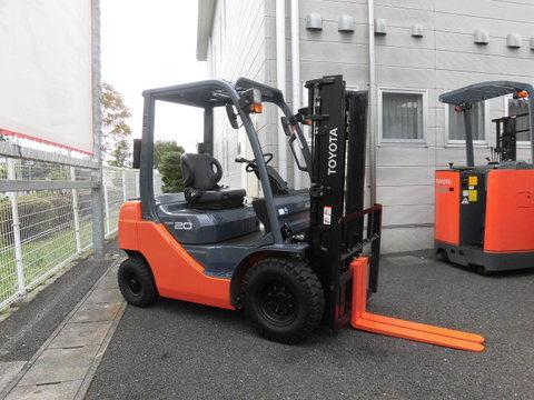 トヨタL&F栃木 中古車フォークリフト販売:トヨタ 02-8FGL20