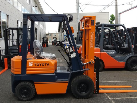 トヨタL&F栃木 中古車フォークリフト販売:トヨタ ガソリン車 5FGL15